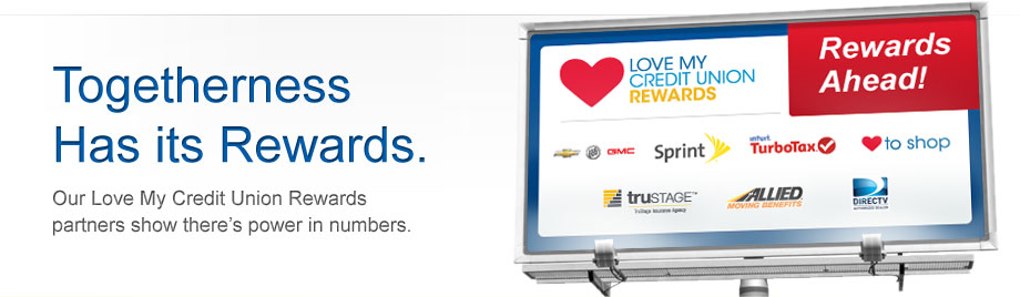 CUSG Love My Credit Union Rewards Partners