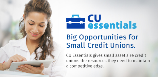 CU Essentials opportunities for small credit unions