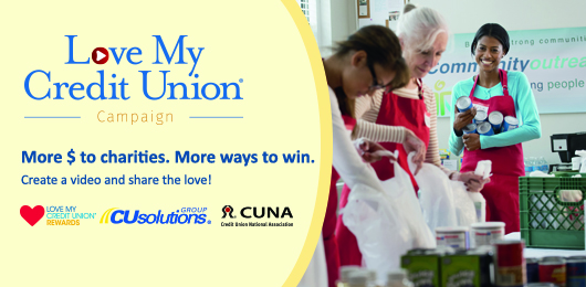 Share the Love credit union campaign