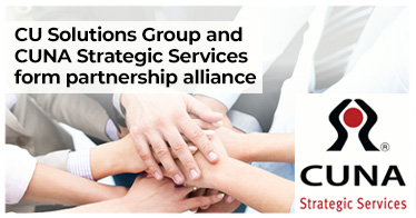 CU Solutions Group and CUNA Strategic Services form partnership alliance