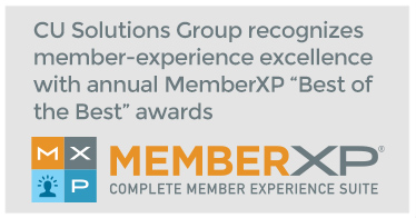 CU Solutions Group recognizes member-experience excellence with annual MemberXP Best of the Best awards